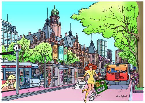 Rotterdam op de tekentafel